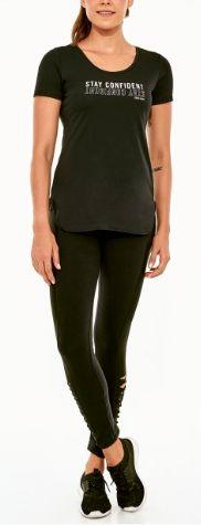 Alto Giro Tshirt Skin Fit Inspiracional Colors Black 2021704
