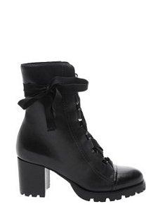 Schutz Combat Boot Lace Up Black S2055600030001
