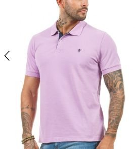 Docthos Polo Piquet Easy Lilas 640119043