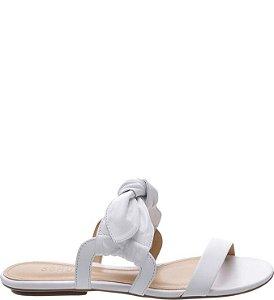 Schutz Rasteira Sweet Laço White S0109303830007