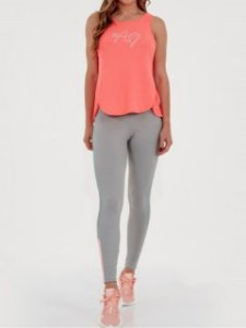Alto Giro Legging Fitness Connect Mescla 2011311