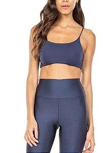 Live Fitness Top Body Curves Essential Marinho P1434