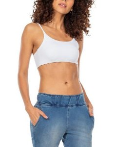 Live Fitness Top Body Curves Essential Branco P1434
