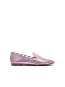 Schutz Loafer Metallic Rosa S2071001160003