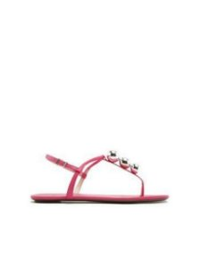 Schutz Sandália Strings Metallic Pink S0116801610002