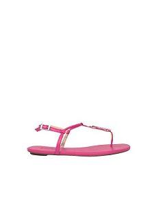 Schutz Sandália Flat Minimal Pink S0116801120015