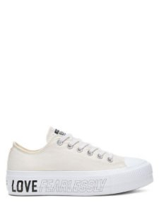 Converse All Star Tênis Chuck Taylor Love Fearlessly Flatform Ct13630001