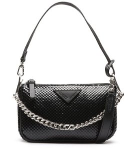 Schutz Crossbody Emmy Bright Snake Black S5001813490001