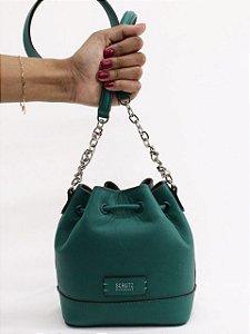 Schutz Bucket Bag Green S5001141780002