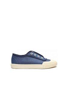 Schutz Sneaker Smash Canvas Blue Jeans S2113600010006