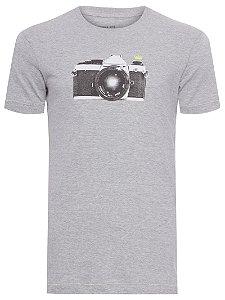 Osklen T-Shirt Vintage Câmera 59079