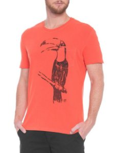 Osklen T-Shirt Strong Tucano Chalk 59098