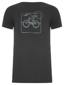 Osklen T-Shirt Organic Rough Bike Neon 55936