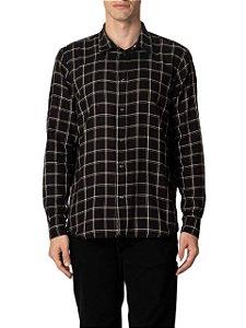 Osklen Camisa Ml Double Pitch Dark 60839