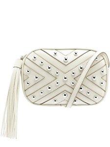 Schutz Crossbody Kate Pearls White S5001504830002