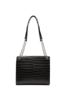 Schutz Shoulder Bag Merlin Croco Black S5001505410001