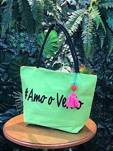 Bolsa #Amo o Verão Verde Lima E003698