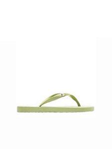 Schutz Chinelo Flip Flop Green S2063200020013