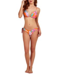 New Beach Tanga Fluity Laço Laranja/Pink 2037106