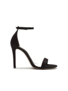 Schutz Sandália Single Nobuck Black S0138702680622