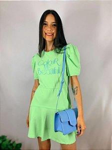 Vestido Curto Verde 10222