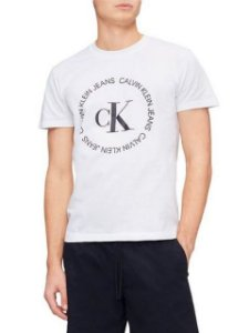 Calvin Klein Jeans Camiseta Circle White TC030
