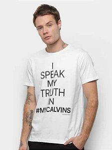 Calvin Klein Jeans Camiseta I Speak White TC774