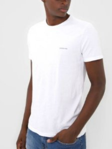 Calvin Klein Jeans Camiseta Basic Branco TC832
