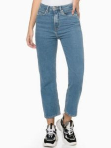 Calvin Klein Jeans Calça Jeans Six Pckts Bordado DI125