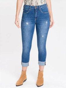 Calvin Klein Jeans Calça Jeans Five Pockets Slim DF136