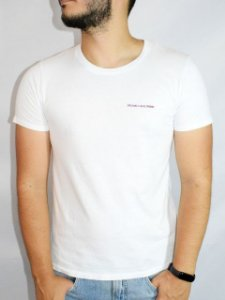 Calvin Klein Camiseta With Love Branco BC508