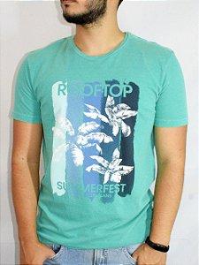 Calvin Klein Jeans Camiseta Summer Fest Verde TC578