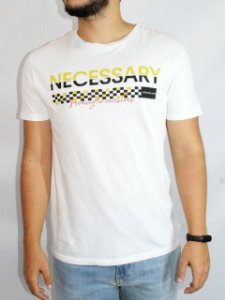 Calvin Klein Jeans Camiseta Necessary Branco TC254