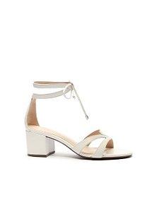 Schutz Sandália Block Heel Minimal Pop White S2000105690001