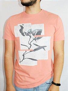 Calvin Klein Jeans Camiseta Flower Papaia TC231