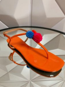 Schutz Flat Minimal Orange S0116801980002