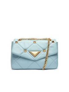 Schutz Shoulder Bag New 944 Maxi Spikes Blue S5001814040004