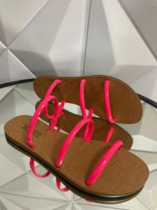 Schutz Slide Arc Pink Neon S2030600170027
