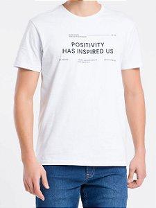 Calvin Klein Camiseta Positivity Branco TC112