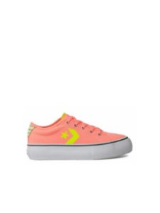 Converse All Star Tênis Replay Flatform Coral CO03170001
