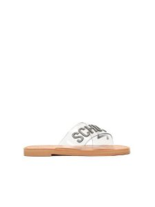 Schutz Flat Cross Jelly Clear Glam S2088900330001