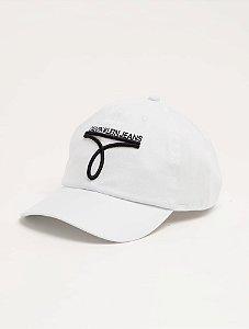 Calvin Klein Jeans Boné Logo Fiv Branco BO510