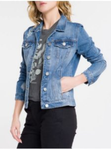 Calvin Klein Jeans Jaqueta Jeans Fem OJ489