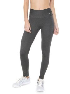 Alto Giro Calça Legging Supplex Termo Alta Compressão Grafite 101302