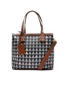 Schutz Mini Shopping Nina Triangle Black S5001811870001