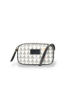 Schutz Bolsa Tiracolo New Mini Kate Triangle White S5001506090002