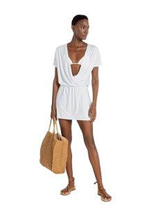 Live Beach Vestido Multi Essential Branco BC010