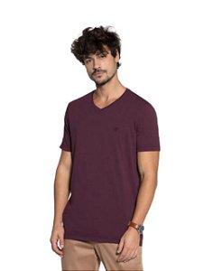 Docthos Camiseta Basic Slim Bordo 623119082