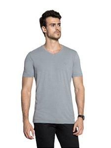 Docthos Camiseta Basic Slim Cinza 623119082