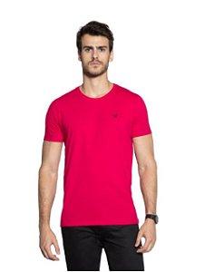 Docthos Camiseta Basic Slim Pink 623119082